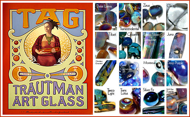 Trautmann Art Glass: 16Farben-Set 2011